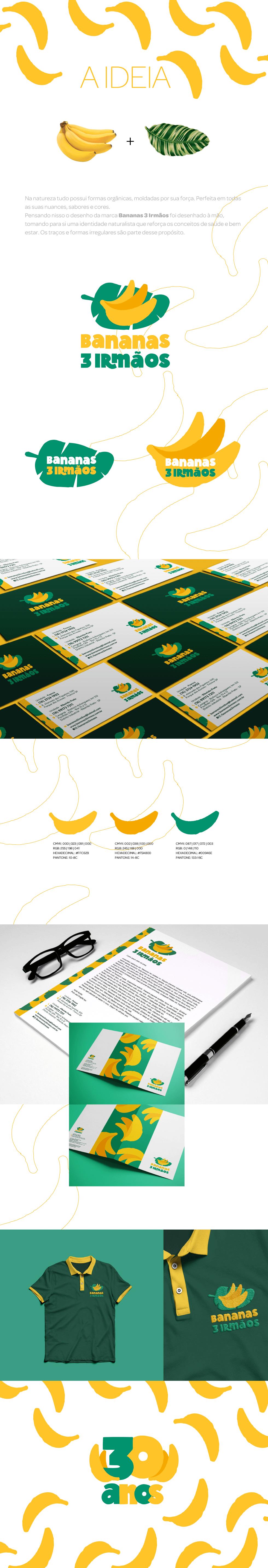 Redesign Bananas 3 Irmãos